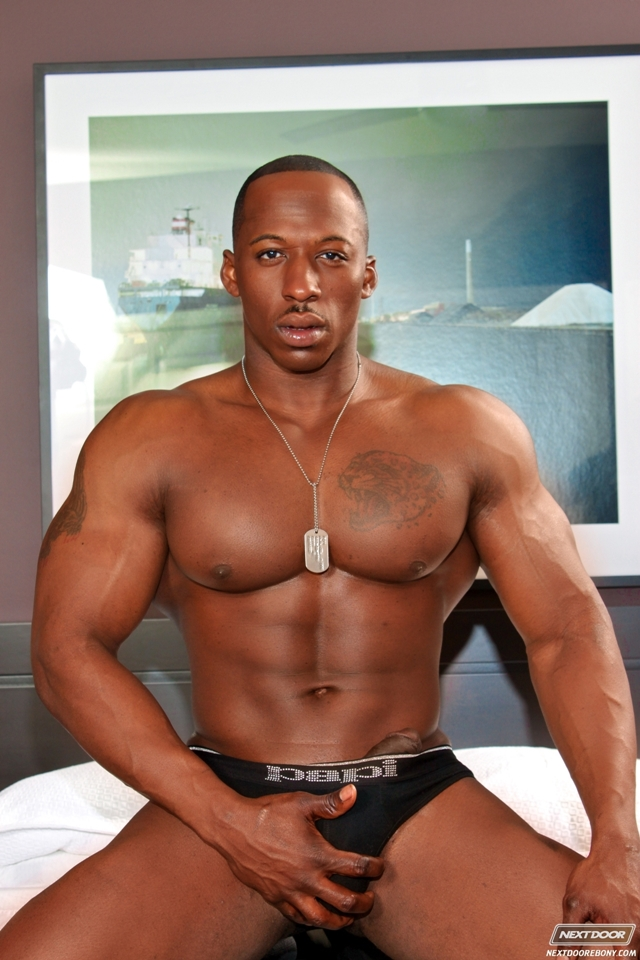 Naked black men gay