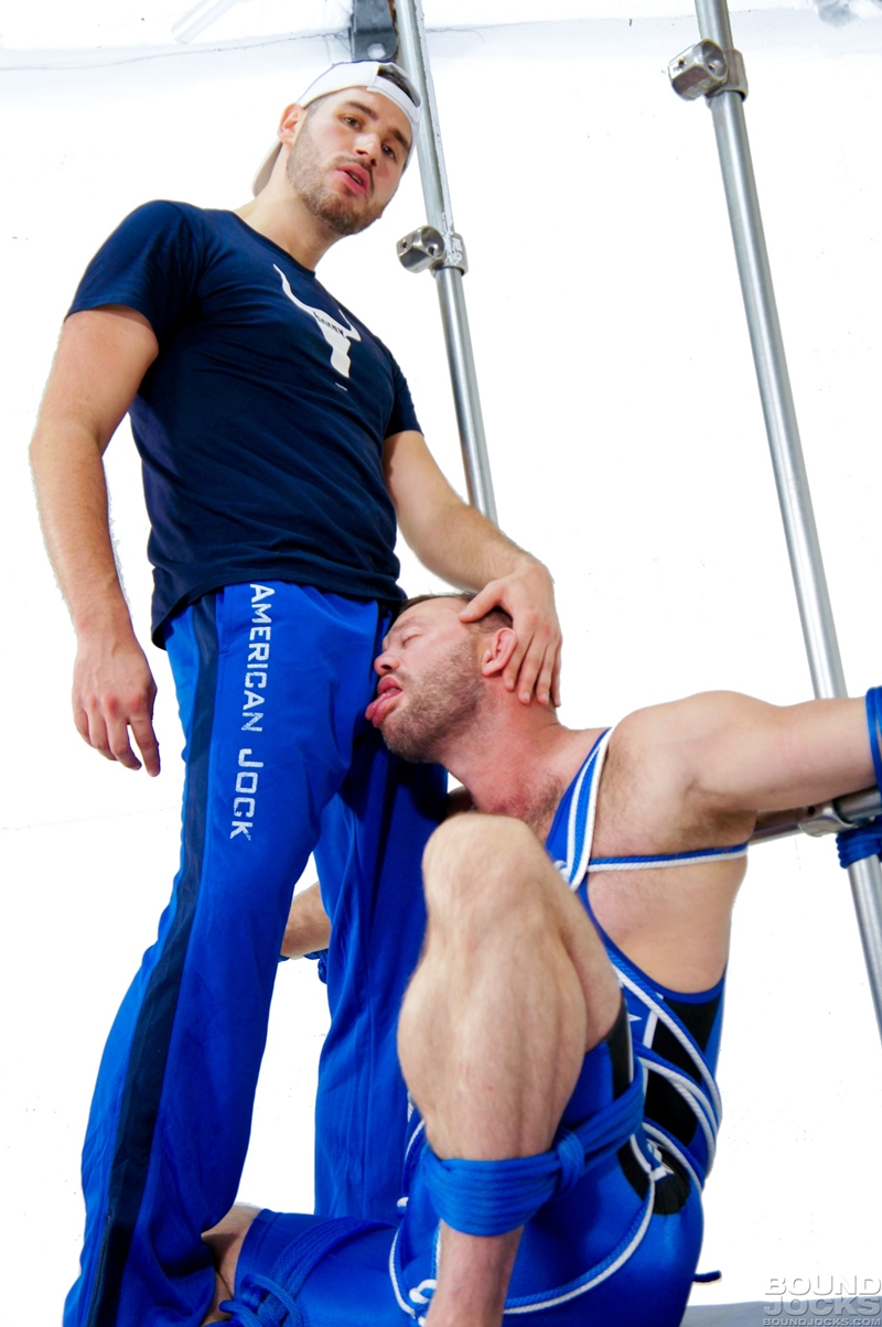 BoundJocks-furry-muscle-jock-Aaron-Cage-wrestling-singlet-BDSM-Coach-Knotty-Brent-stroke-big-dick-naked-men-014-tube-video-gay-porn-gallery-sexpics-photo
