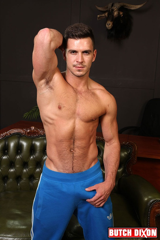 Leather man Dominic Pacifico fucked by Paddy OBrian in rubber shorts 01 Ripped Muscle Bodybuilder Strips Naked and Strokes His Big Hard Cock photo Leather man Dominic Pacifico ass fucked by Paddy O'Brian in rubber shorts