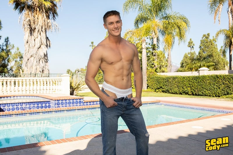 Men for Men Blog Jax-barebacks-Asher-fucks-big-bare-raw-cock-sucking-smooth-black-bubble-ass-hole-SeanCody-003-gay-porn-pictures-gallery Sexy young interracial muscle couple Jax and Asher bareback ass fucking Sean Cody